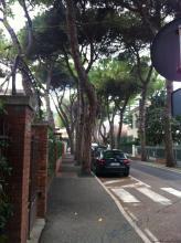 意大利当地小镇日常生活景象小马路